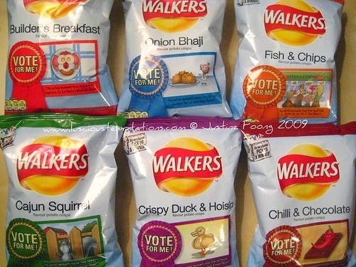 New Walkers Crisp Flavours