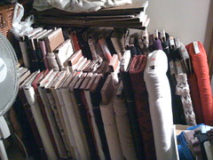 huge stash of fabric