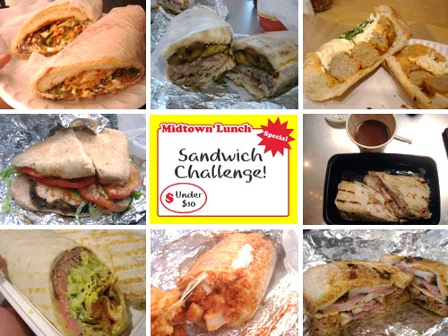 Midtown Lunch Sandwich Challenge