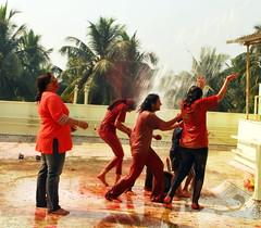 Let's play holi (shubhangi athalye) Tags: girls india colors festival kids festive fun play indian bombay maharashtra mumbai holi rang rangpanchami