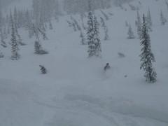 P1000057 (m_dowhaniuk) Tags: snow snowboarding redfish