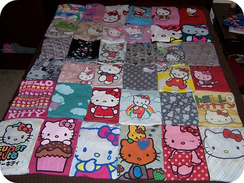 36 Hello Kitty Shirts:)