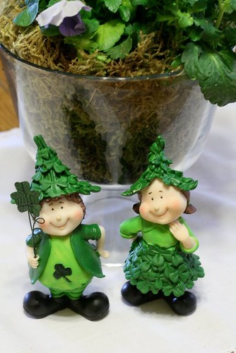 St. Patrick's Day figurines