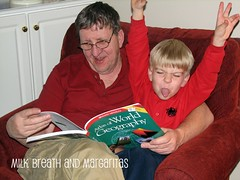 Shark & Dad Reading2