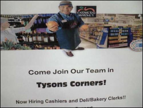 Tysons Corners?