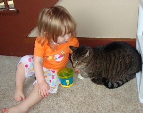 Clover loves Phoebe