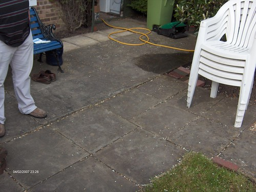 Indian Sandstone Patio and Lawn Image 8