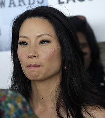 Hollywood, Lucy Liu (Pulicciano) Tags: pictures california santa red sexy film beauty carpet actors los media dress angeles spirit award monica independent hollywood actress actor paparazzi awards elegant press interview diva independet pulicciano