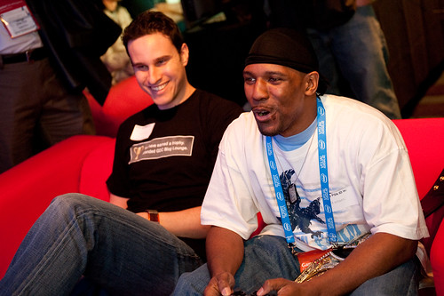 Jeff vs. Hip Hop Gamer - Street Fighter - PlayStation.Blog Meet-Up