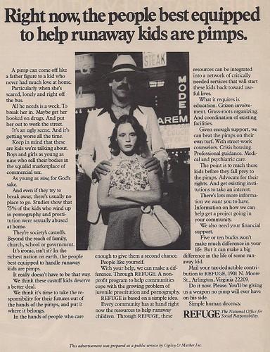 1977 Pimps Ad