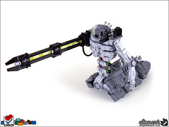 Necron Heavy Destroyer (Aliencat!) Tags: lego 40k destroyer warhammer necron