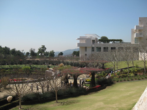 Gardens of the Getty Museum-Los Angeles-Steve Barrymore