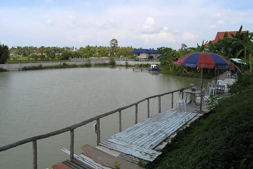 Koh samui Skylake fishing park & restaurant 釣り0007