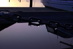 Havsöringspremiären, Björlanda Kile (Johan Gustavsson) Tags: water sunrise göteborg drops sweden gothenburg chain sverige 1855mm vatten hdr soluppgång fiske droppar kedja picturenaut sportfiske nikond80