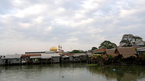 72.Boeng Kak Lake旁的水上屋 (3)