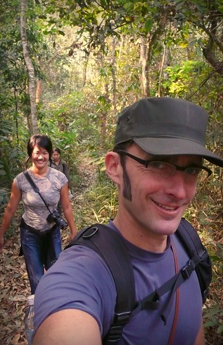 on our trek, luang nam tha