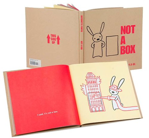 Top 100 Picture Books #84: Not a Box by Antoinette Portis