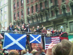 Alan Cumming, Tartan Day Parade 2009