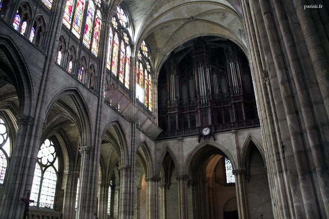 Lorgue de la basilique Saint Denis est lun des plus beaux  instruments musicaux de France