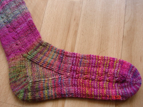 """Brainless"" socks aus 4. sock blank"