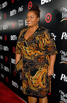 Jazz singer Jill Scott attends the BET Debra Lee Pre-Party Dinner held at the Vibiana on June 23, 2008 in Los Angeles, California. by Pan-African News Wire File Photos