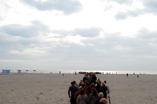 beach-procession