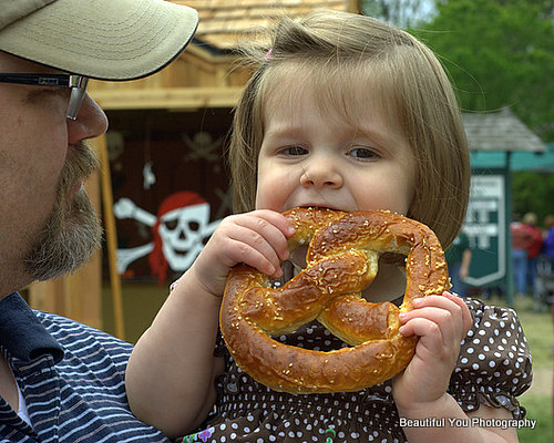 Hope and the Giant Pretzel