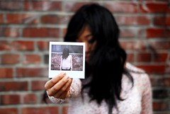 pola preview:) (jon madison) Tags: seattle people brick hair polaroid gracie downtown spectra jonmadisoncom dsc0273jpg polashow