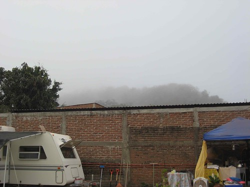 Fog invades Arroyo Seco