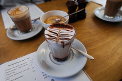 Excellent Hot Chocolate, Lantana Cafe, London