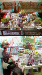 Haftsin - Anaglyph 3d picture :::: you need Red/Cyan glasses (Shahrokh Dabiri) Tags: 3d anaglyph stereography haftsin nowrooz    nurooz