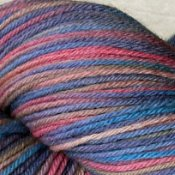 *Twilight* 3.5 oz Merino sock yarn
