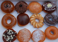 doughnuts (Margaret Stranks) Tags: uk krispykreme donuts doughnuts oxfordshire oxfordcastle dayofthe upcoming:event=2408416
