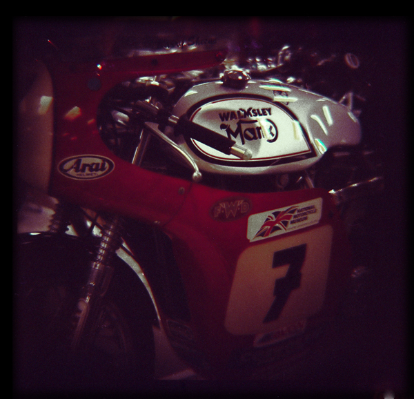Barry Sheene's Walmsley Norton 4