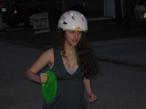 Yes I need a helmet to run.