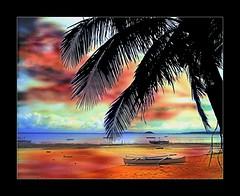 Fake Sunset 4 (smallislander) Tags: philippines mindanao generalluna siargaoisland