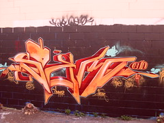 burst of energy 2 (SOEM GRAFF) Tags: sf graffiti paint spray ala spraypaint gn 2009 pfp bung btf soem 2009graffiti