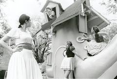 Storyland Series, 2009 (Leah Graeff) Tags: girls house shoe women dresses females nurseryrhyme