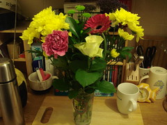 Flowers from Jo & Jake!