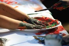 MUM, Do not lose me! The Method (Tropical Diaspora (GArRA BerlinI)) Tags: berlin colors work kreuzberg painting