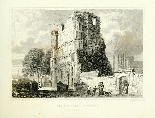 005-Abadia de Malling Kent 1829