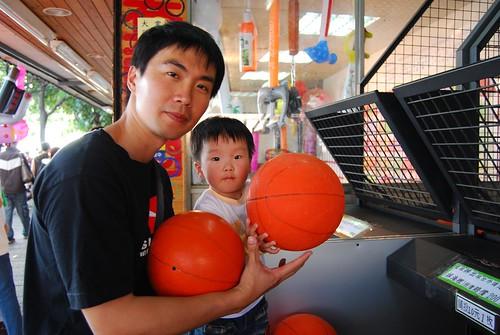 父子籃球拍檔