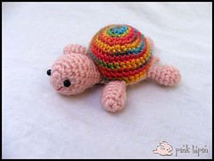 tortuga (✮~ Katty ~✩) Tags: pink handmade turtle amigurumi tortuga lapin pinklapin
