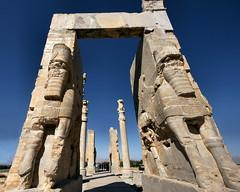 Persepolis: Gate of All Nations (moocatmoocat) Tags: statue iran great moo gateway cyrus archeology carvings 337 darius iranelection persolis lpheritage
