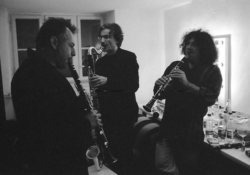 Le Trio de Clarinettes © Jazzdor 2008