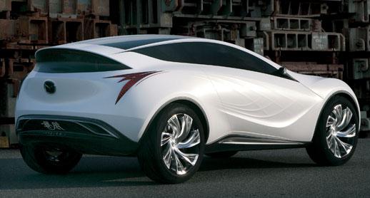 Nagare-themed concept Mazda Kazamai