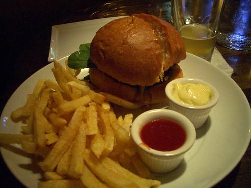 Boho burger