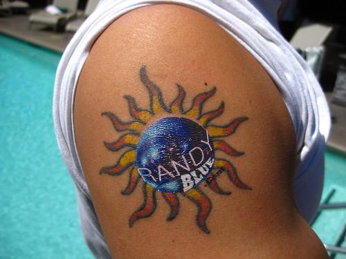 Randy Blue Tattoos