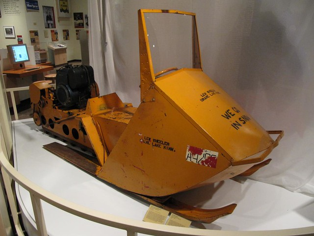 snowmobile, 1962