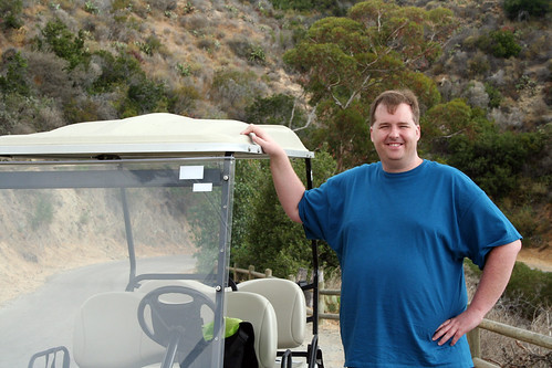 Catalina - Mike with Golf Cart